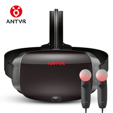 ANTVR 2017 New Virtual Reality Glasses Headset for PC Virtual pc Glasses Binocular 110 FOV 2160*1200P VR box Immersive 3D VR(China)