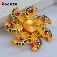 Diamond Fidget Spinner fashion luxury Finger Spinner EDC Focus Hand Relief Toys for autism and ADHD 2017 Hot Sale Hand Spinner