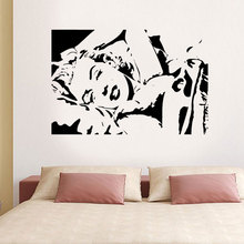 Marilyn Monroe Beauty Model Girl Wall Art Stickers Decals Vinyl Decor Room Home Removable Wallpaper E560(China)