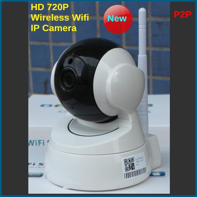 IP Camera 720P WIFI Wireless CCTV HD IR Night Vision Security Surveillance Camera System IOS Android APP<br>