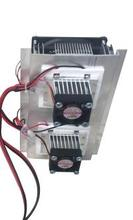 Thermoelectric Cooler Peltier Refrigeration Cooling TEC System Kits Double Fan