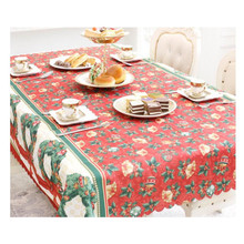 New Year Home Tablecloth Kitchen Dining Table Decor Christmas Tablecloth Rectangular Party Table Covers Ornaments 150x180cm EY11