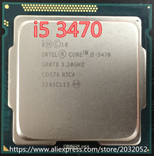 Original lntel Core I5-3470  I5 3470 3.2GHz Quad-Core LGA 1155 L3 Cache 6MB Desktop CPU (working 100% Free Shipping)