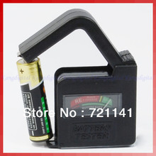 F85 Universal 9V AA AAA C D Button Battery Tester Checker(China)