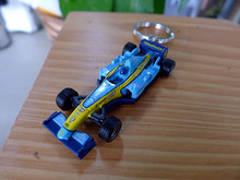 Renault F1 Formula Renault racing car model creative gifts key chain ornaments genuine French UH
