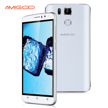 Original AMIGOO X10 MTK6580 Quad Core Android 5.1 Mobile Phone 6.0 Inch Cell Phone 512MB RAM 8G ROM Fingerprint Smartphone