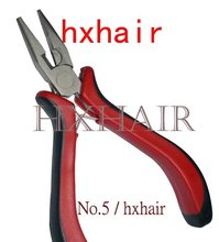 No.5 Hair Extension Pliers / Straight Head with Teeth / Hair Extension Tools(China)