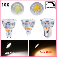 High Brightness 9W 12W 15W christmas lights E27 GU10 GU5.3 85-265V MR16 12V Cob led bulb lamp Warm White Cold White lampada led(China)
