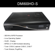 DM800 HD V84A PVR Satellite Receiver With SIM 2.01 M Tuner DVB-S Linux Satellite Hd Media Player