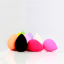 1pcs Quality Retail Packing Egg Shape Latex Free Water Expand Face Blender cosmetic powder puff Makeup Sponge