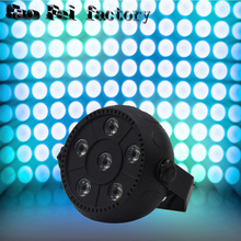 Outdoor Led Par With 6watt 6 pcs RGBW 36W led par stage light waterproof Multi-Color dmx led par