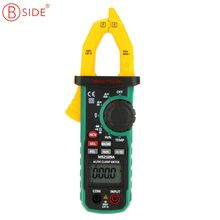 MasTech MS2109A Auto Range Digital AC DC Clamp Meter Ture RMS 600A Multimeter Volt Amp Ohm HZ Temp Capacitance Tester NCV Test(China)