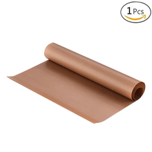 BAKHUK 1 Piece 40*60 cm Baking Mat, High Temperature Resistant Teflon Sheet, Heat-Resistant Pad, Non-stick, For Home Outdoor BBQ(China)