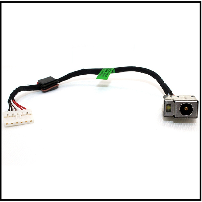 Original DC power jack cable for HP Spectre XT TouchSmart 15-4001xx 15-4010nr