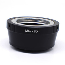 Buy High-Precision M42-FX lens adapter M42 screw mount lens Fujifilm X Camera X-T10 X-A2 X-T1 X-A1 X-E2 X-M1 X-E1 X-Pro1 wholesaler) for $7.21 in AliExpress store