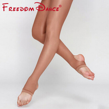 Buy Children Ballet Dance Tights 40D Shining Shaping Pantyhose Tights Stockings Kids Girls 2017 Fitness Sport Stirrup Tights for $6.90 in AliExpress store