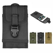 Army Tactical Cell Phone Pouch Holster Case Bag Belt For iPhone 6 Plus 5.5''
