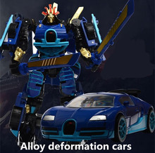 Alloy deformation cars,deformation robot,high simulation Sports car model,metal diecast,DIY toys,toy vehicles,free shipping