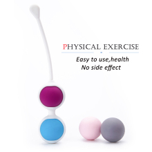 Silicone Smart Vaginal Balls Female Vagina Tight Exercise Trainer Kegel Ball Waterproof 4 Balls Bead vaginal shrink massager
