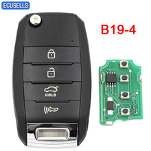 B19-4 KD900 KD900+ KD200 URG200 Mini KD Remote Control 4 Button Key K Style Smart Car Key Universal Remote Key(China)