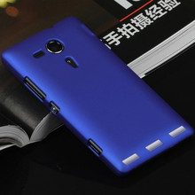 For Sony Xperia SP Case Sony Experia SP Cover M35h C5303 C5302 C5306 Colorful Luxury Hard Solid Matte Protective Back Cover