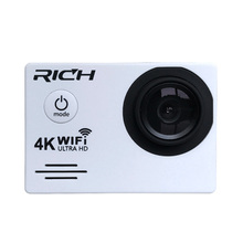 RICH j7000 Sports Cameras 4K 2.7K 1080P Action Camera 16MP WiFi 30M Waterproof 2.0LCD Full HD DVR 170 Cheap price(China)