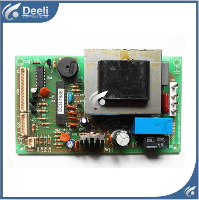 95% new used for refrigerator Computer board 06020085 06020103 good working<br>