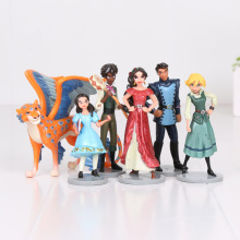 6pcs/set anime Elena of Avalor PVC Action Figures Elena Dolls PVC ACGN figure Garage Toys Brinquedos