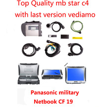 WhloesaleMb Star c4 sd sd connect with Panasonic toughbook CF19 4GB Ram Best Quality mb star diagnostic tool