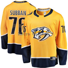 #76 PK Subban Nashville Predators Fanatics Hockey Jersey Embroidery Stitched Customize any number and name Jerseys(China)