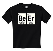 GILDAN man t shirt Beer Be Er Periodic Table Of Elements Funny Drunk Drinkings Mens T-Shirt