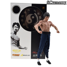 Bruce Lee Figure STORM Collectibles Kung Fu Bruce Lee 1/12 Premium Figure Classic Baby Toys Gift(China)