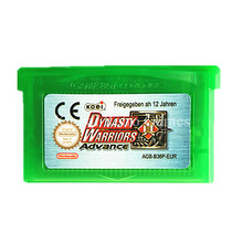 Nintendo Game Dynasty Warriors Video Game Cartridge Console Card for Game Boy Advance ENG/FRA/DEU/ESP/ITA Language