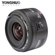 Buy Yongnuo 35mm lens YN35mm F2 lens Wide-angle Large Aperture Fixed Auto Focus Lens canon EF Mount EOS Cameras for $90.95 in AliExpress store