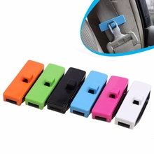 Car Seat Belt Buckle Safety Adjusting Clip Tension Adjuster for Car Pack of 2 Stylish Design Extension Auto Accessories(China)