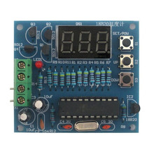 DIY Kits AT89C2051 DS18B20 Kit Digital Temperature Controller microcontroller Design Thermometer Electronic Suite(China)
