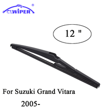 "CLWIPER Rear Wiper Blades For SUZUKI GRAND VITARA(2005-) 2006 2007 2008 2009 2010 Rear Car Windshield Wiper Blade 12""(China)"