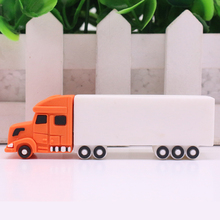Cargo Truck Car 32GB 16GB 8GB 4GB USB Flash Drive Really Capacity Pen Drive Memory Stick U Disk Pendrives gift Free shipping