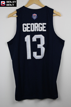 Beast Beat #13 Paul George USA Basketball Jerseys Blue Breathable Throwback Sports Jerseys Wholesale Free Shipping
