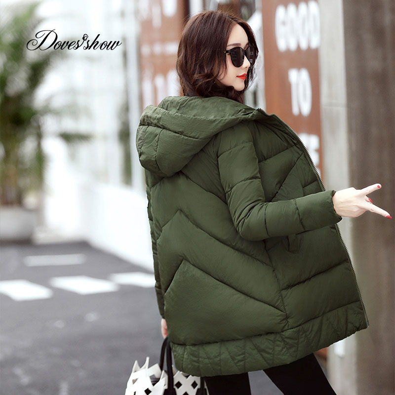 2017 New Thick Winter Jacket Women Fashion Padded Coat Mujer Plus Size Overcoat Parka Wadded Casaco Feminino Female Jacket P803Îäåæäà è àêñåññóàðû<br><br>