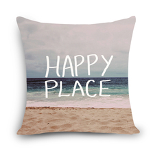 HAPPY PLACE SEA style sailboat printed dining chair cushion cover car seat cushion covers Home decorative pillows for sofa MYJB3(China)