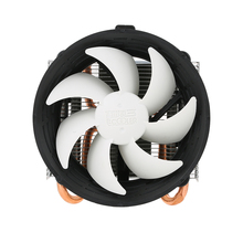 PCCOOLER 2017 CPU Cooler Fan 2 Heatpipes Radiator Quiet 3pin Mini CPU Cooler Heatsink Fan Cooling with 100mm for Desktop Compute