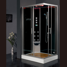 2017 luxury steam shower enclosure with tempered glass bathroom shower cabins jetted massage walking-in sauna rooms ASTS1055