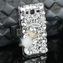 DIY Girl Glitter Luxury Crystal Case for Samsung Galaxy J3 2016 Rhinestone Diamond Bling Covers Funda Strass Mobile Phone Cases