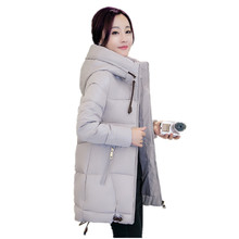ALI TOPTINA Women Winter Coats 2017 Snow Wear New Cotton-padded Clothes Thickening Loose Coat Cotton Winter Jacket Women Jacket