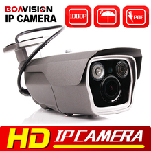 1080P 2MP POE IP Camera Outdoor Network CCTV IR Bullet Mobile APP View Waterproof 4X Zoom VariFocal 2.8-12mm Lens - BOAVISION Official Store store