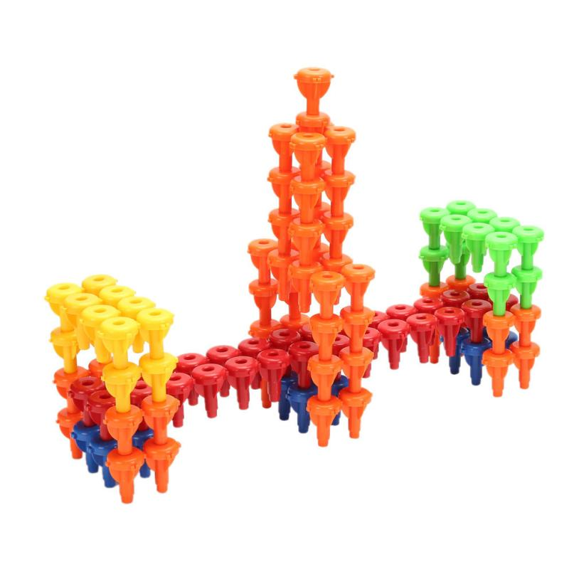 96PCS baby children Toys Building Blocks Montessori Therapy Fine Motor Toy for Toddlers Block toys for kids <br><br>Aliexpress