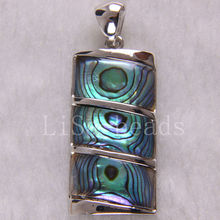 Free Shipping New without tags Fashion Jewelry Natural Blue New Zealand Abalone Shell Pendant 1Pcs RK333