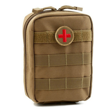 NEW First Aid Kit Outdoor Wilderness Survival Military First Aid Kit Camping Emergency Kits Bags Medical Bag Empty Bag(China)