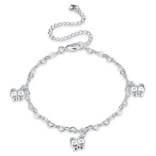 Owl Foot Chain Cavigliere Silver Chaine De pied Ankle Bracelets Feminina Enkelbandje Anklets Jewelry For Foot(China)